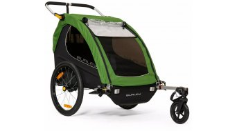 Burley Encore rimorchio bici per bambini treetop verde