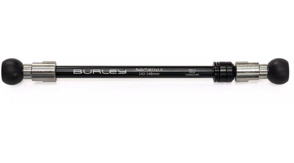 Burley Ballz perno passante M12x1.0 142-148mm nero