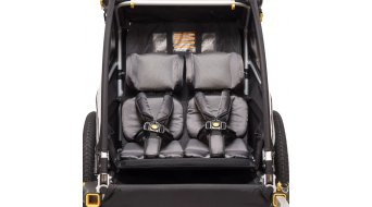 Burley Premium Seat Pads fondello nero
