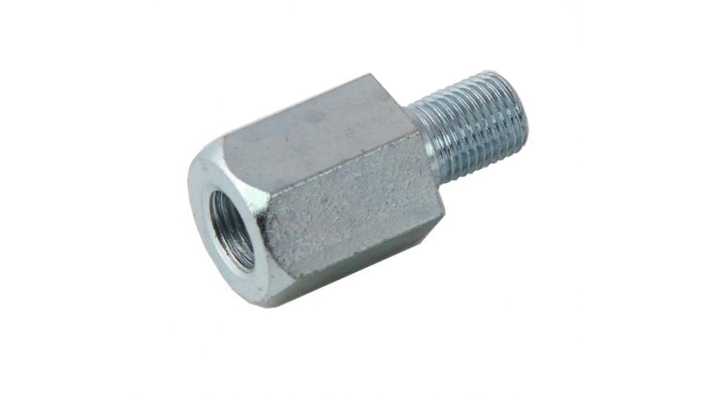 Burley adapter for standard connector M10.5x1.0 silver