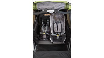 Burley Baby Snuggler Sitzverkleinerer / Sitzeinlage grey