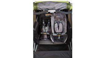 Burley Baby Snuggler seat verkleinerer/seat insert grey 2016