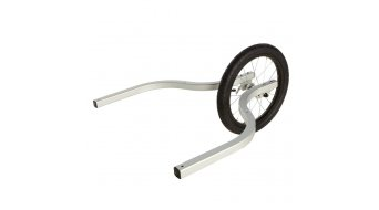 Burley wheel set Jogging option 2- seat er without hand brake silver