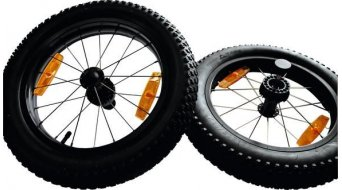 "Burley wheel 16"" set complete with tire"