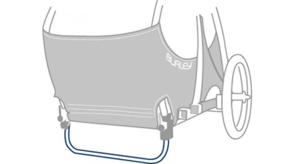 Burley Ständer klappbar für Tail Wagon silver