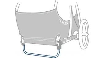 Burley 立撑 可折叠的 适用于 Tail Wagon silver