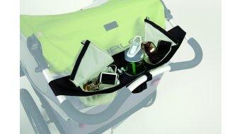 Burley zak/zakken- systeem voor Schiebebü gel grijze