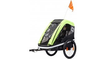 Hamax Avenida One kinderaanhanger lime
