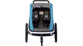 Hamax Avenida dětský vozík za kolo petrol blue model 2019