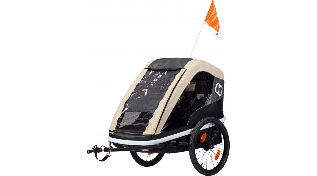 Hamax Avenida dětský vozík za kolo coffee model 2019