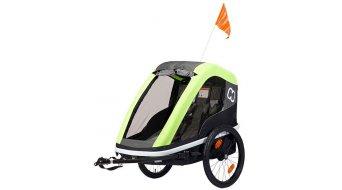 Hamax Avenida dětský vozík za kolo lime model 2019