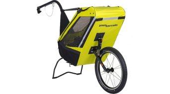 Tout Terrain Singletrailer rimorchio bici per bambini monoposto ammortizzata incl. gancio