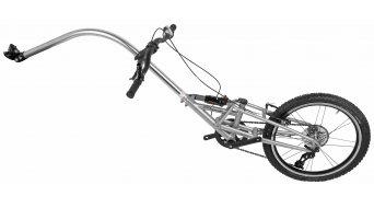 Tout Terrain Streamliner rimorchio bici per bambini ammortizzata argento