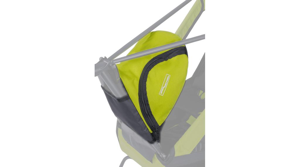 Tout Terrain Cargobag L für Singletrailer grün