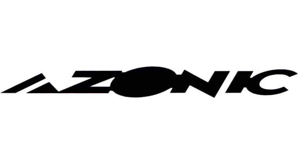 Azonic Sticker 15x3cm white/black (10 Stück)