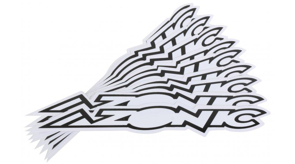 Azonic Sticker 15x3cm black/white (10 Stück)