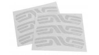 ENVE Road SES48 Aufkleber-Satz silber (6 Stück für eine Felge)