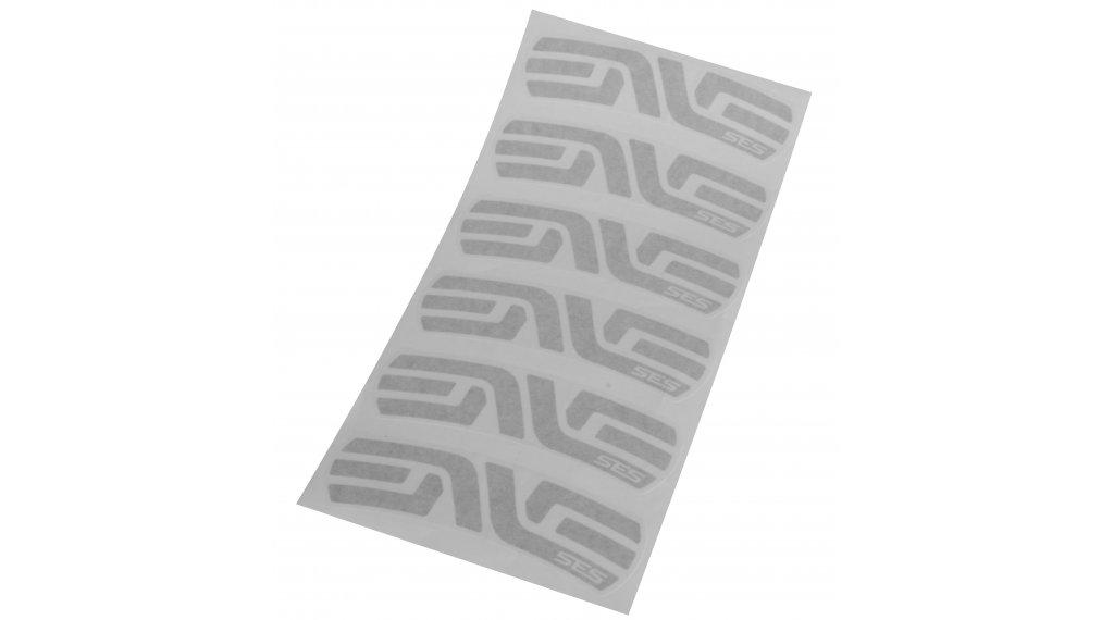 ENVE Road SES60/56 Aufkleber-Satz silber (6 Stück für eine Felge)