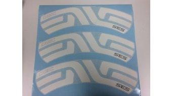 ENVE Felgenaufkleber SES 7.8 Decal Kit weiß hinten (6 Stück für eine Felge)