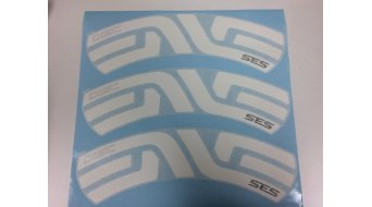 ENVE Felgenaufkleber SES 7.8 Decal Kit 白色 后面 (6个 适用于 一个 车圈)
