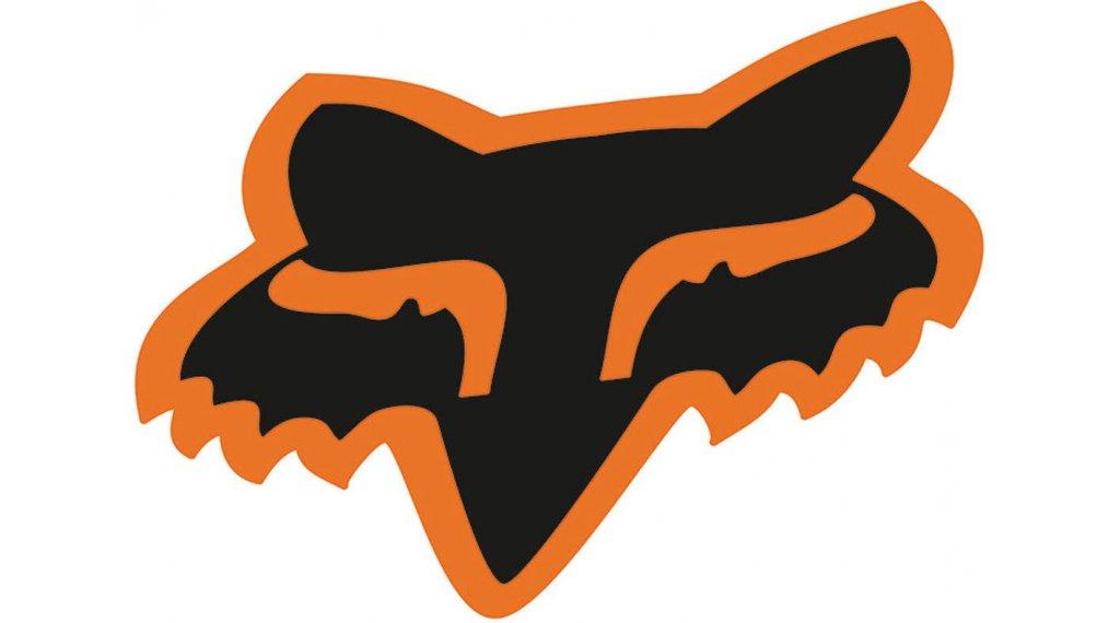Fox Head Aufkleber 17.8cm (7) black/orange