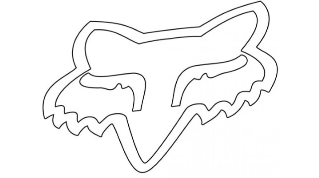 Fox TDC Aufkleber 25.4cm (10inch) white