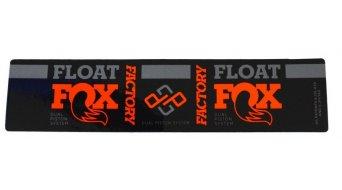 Fox Racing Shox Float DPS Factory Serie Decal Orange