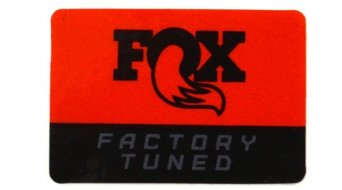 Fox Racing Shox Factory Tune Fork Crown Decal