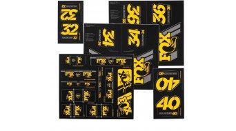 Fox AM Heritage Decal-Kit (Federgabel & Dämpfer) Yellow
