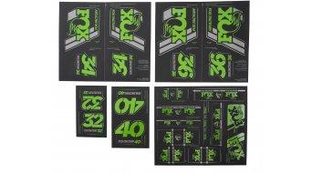 Fox AM Heritage Decal-Kit (Federgabel & Dämpfer) Green
