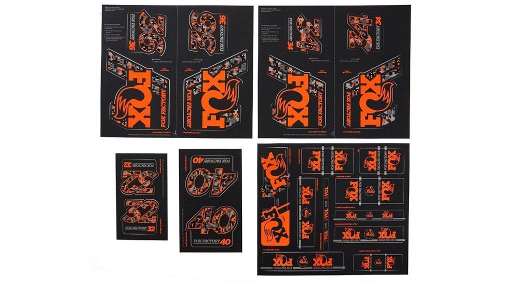Fox AM Heritage Decal-Kit (Federgabel & Dämpfer) Digi Cam
