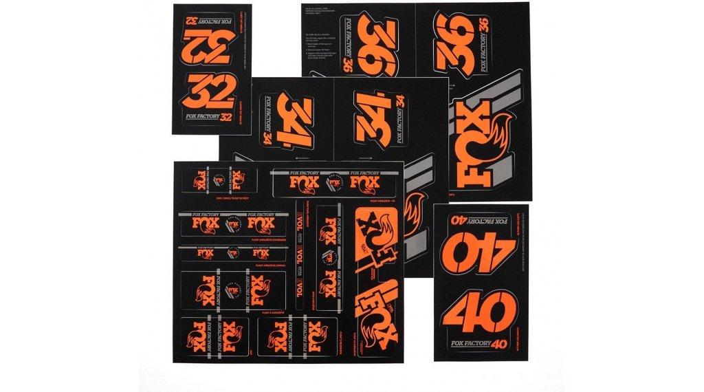 Fox AM Heritage Decal-Kit (Federgabel & Dämpfer) Orange