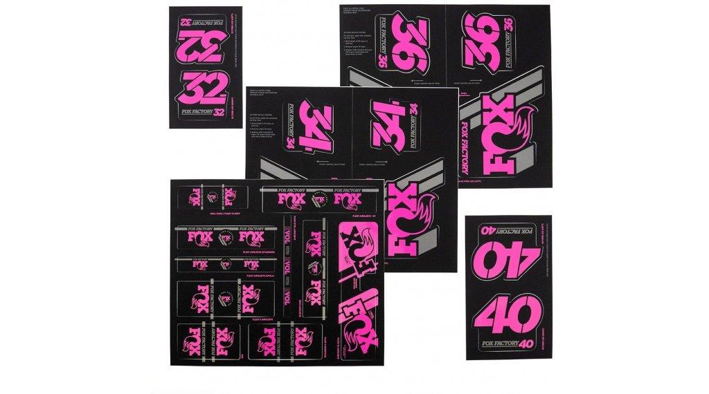 Fox AM Heritage Decal-Kit (Federgabel & Dämpfer) Pink