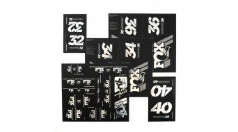 Fox AM Heritage Decal-Kit (Federgabel & Dämpfer) Chrome