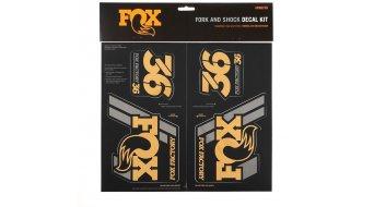 Fox AM Heritage Decal-Kit (Federgabel & Dämpfer) Gold