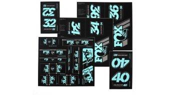 Fox AM Heritage Decal-Kit (Federgabel & Dämpfer) Mint