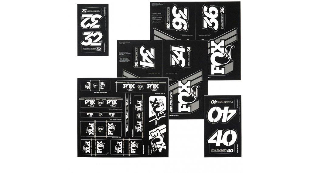 Fox AM Heritage Decal-Kit (Federgabel & Dämpfer) White