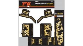 Fox AM Heritage Decal-Kit (Federgabel & Dämpfer) Gold Mod. 2016