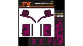 Fox AM Heritage Decal-Kit (Federgabel & Dämpfer) Pink Mod. 2016