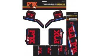 Fox AM Heritage Decal-Kit (Federgabel & Dämpfer) Red/White/Blue Mod. 2016