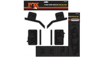 Fox AM Heritage Decal-Kit (Federgabel & Dämpfer) Stealth Black Mod. 2016
