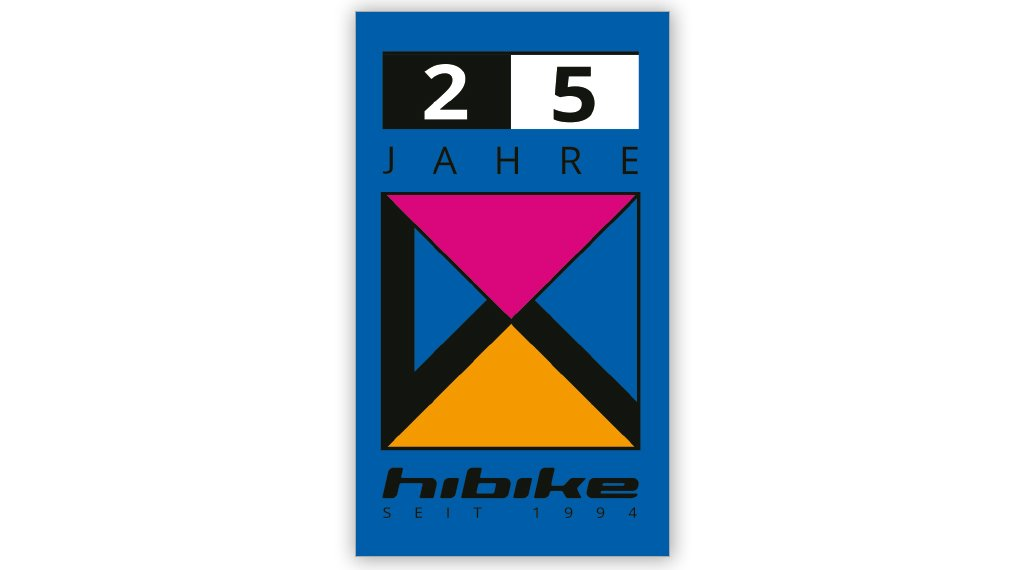 "HIBIKE 25 years 贴纸 ""Mag 21 Logo"" 蓝色/色彩丰富的"