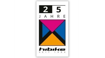 "HIBIKE 25 years 贴纸 ""Mag 21 Logo"" 白色/色彩丰富的"