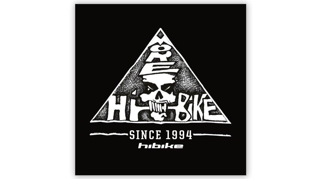 "HIBIKE 25 years 贴纸 ""Skull Logo"" 黑色/白色"