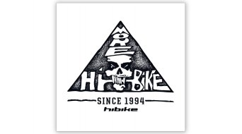 "HIBIKE 25 Jahre Aufkleber ""Skull Logo"""