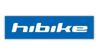 HIBIKE Logo Aufkleber Schriftzug blau/weiß