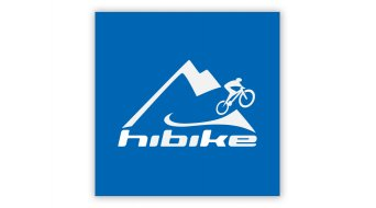 HIBIKE Logo Aufkleber Mountain blau/weiß