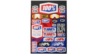 100% autocollant set Decal kit 12x18