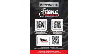Kryptonite Bike Shepherd ID-matrica