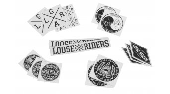 Loose Riders Sticker Set